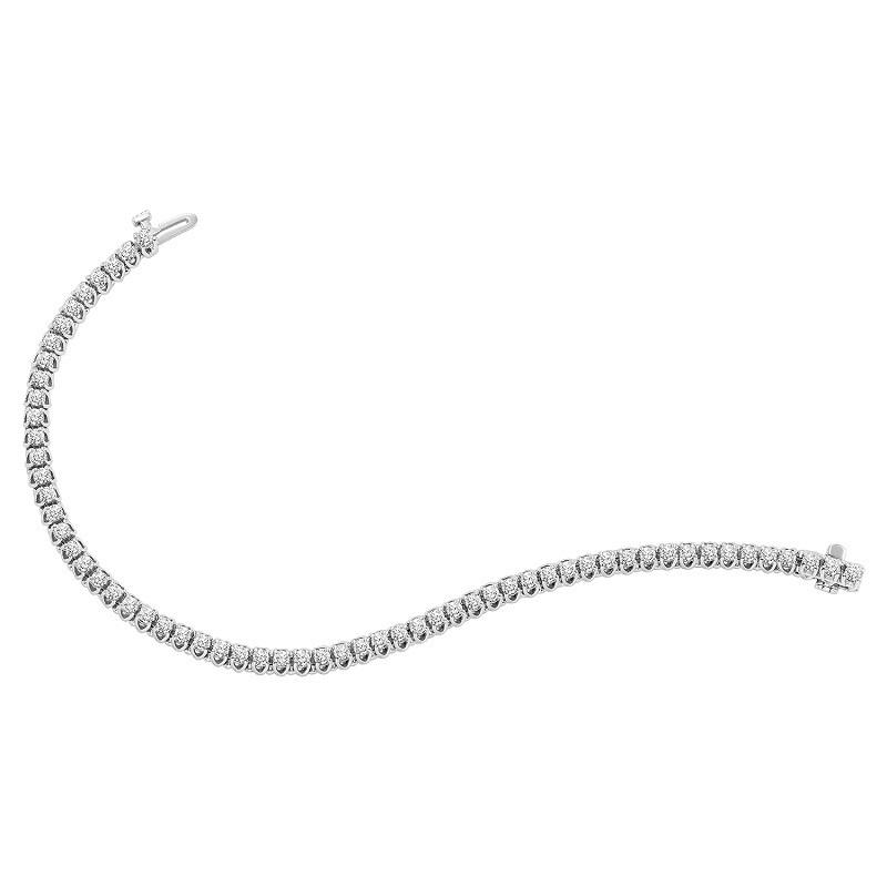 14K Diamond Bracelet 7 ctw