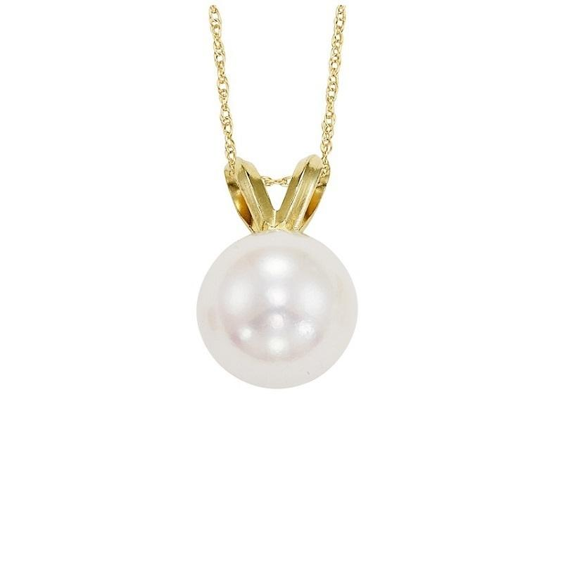 Cultured Pearl Pendant 6.5 mm