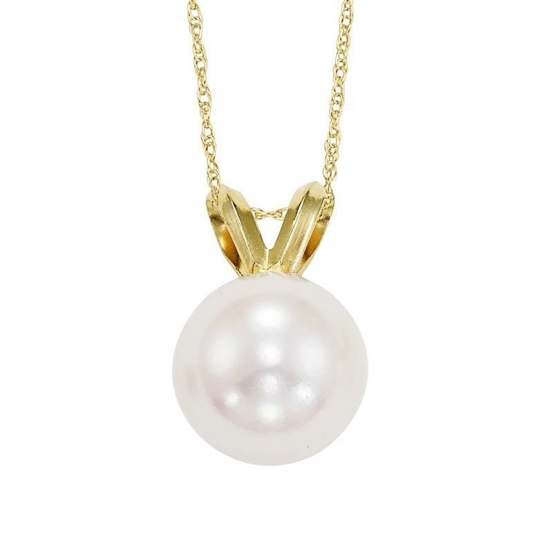 Cultured Pearl Pendant 8.5 mm