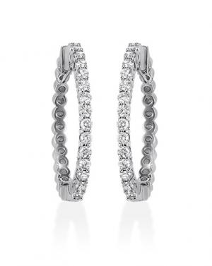 14K Diamond Earring 1/4 ctw
